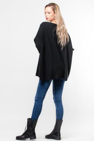 Pulover negru oversize [1]