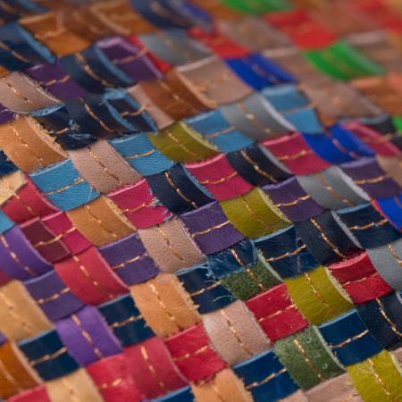 Rucsac multicolor din piele naturala4