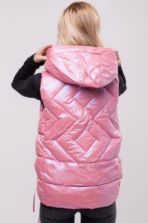 Vesta roz cu interior gri metalic [2]