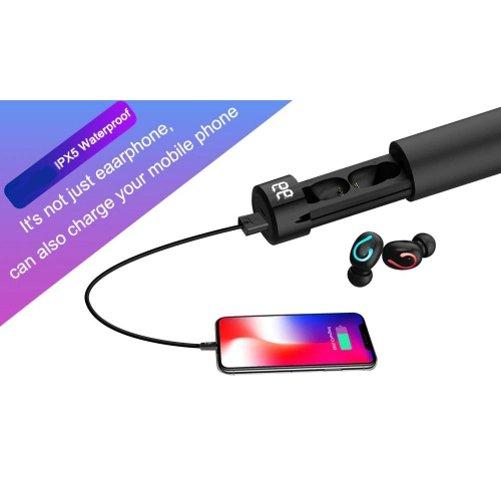 Casti Wireless G6 TWS Bluetooth 5.0 compatibile cu iOS & Android [3]