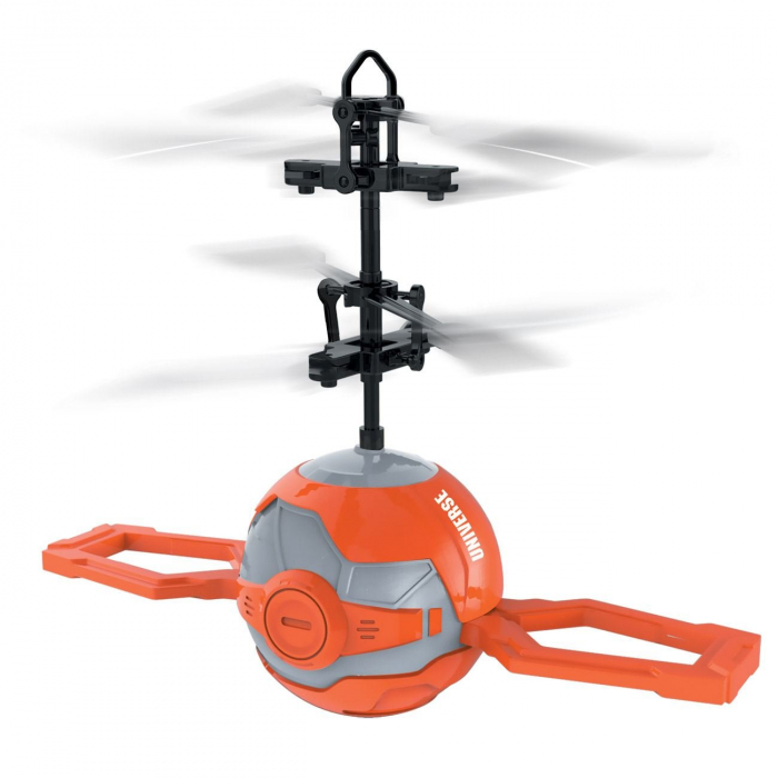 Elicopter mini portocaliu cu infrarosii, Lioness, 16 x 6 x 21 cm [0]