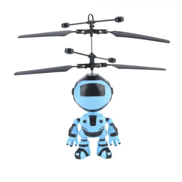 Jucarie interactiva Robot care zboara, reincarcabila cu USB [0]