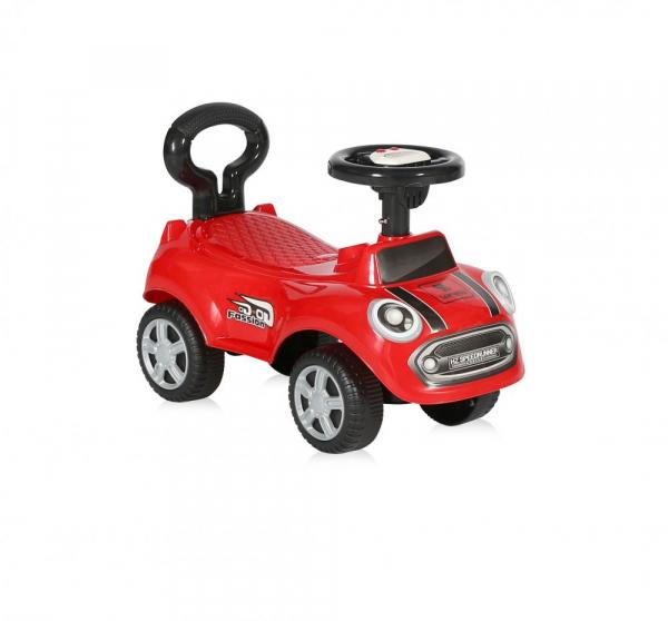 Masinuta fara pedale sport Mini muzicala Red [0]