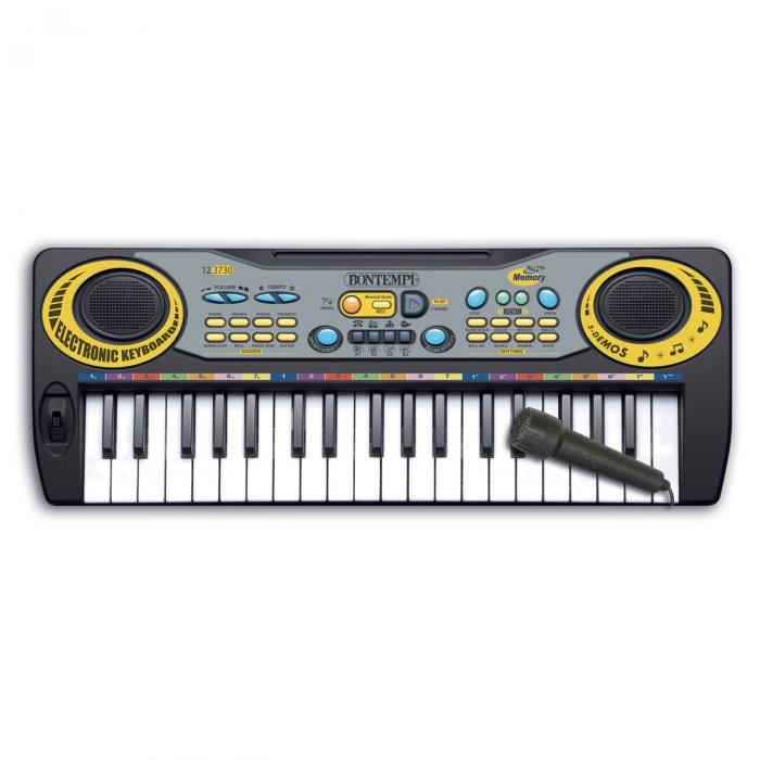 Orga electronica cu microfon, Lioness, 55 x 6 x 16 cm [1]
