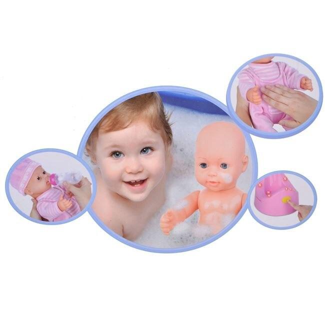 Papusa bebelus cu olita cu sunet si biberon, 3 ani + [1]