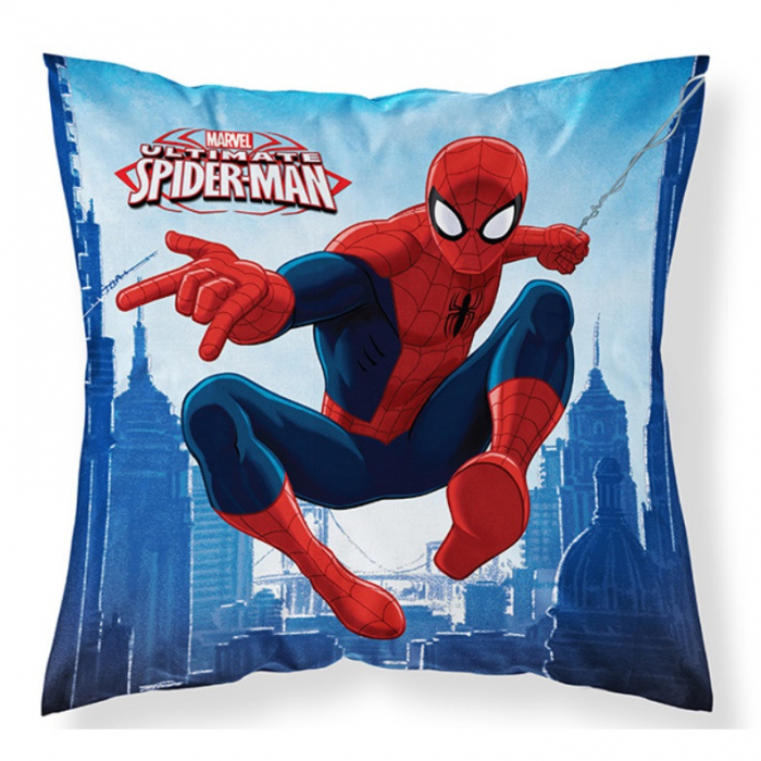 Perna, Ultimate Spider-Man, albastra, 40x40cm [0]