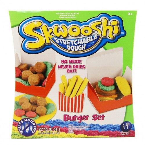 Plastilina Irwin Toy Skwooshi - Set Burger [0]