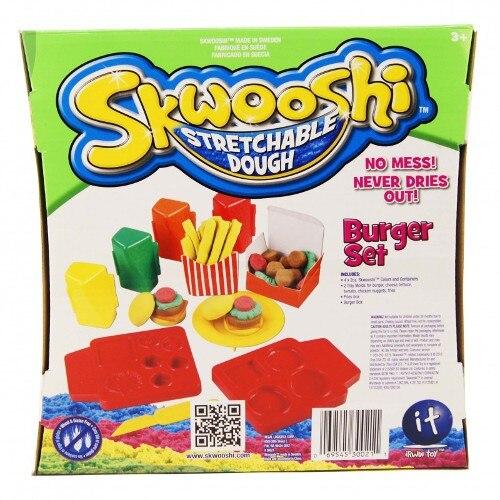 Plastilina Irwin Toy Skwooshi - Set Burger [1]