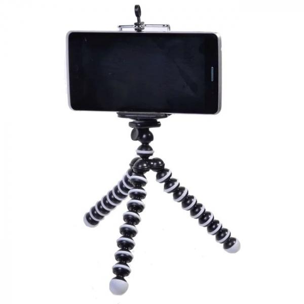 Mini trepied flexibil pentru telefon sau camera video/foto [3]