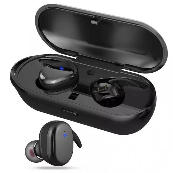 Casti Bluetooth TWS4 Wireless, Microfon, Control Touch, Dock, Android, iOS, Windows [0]
