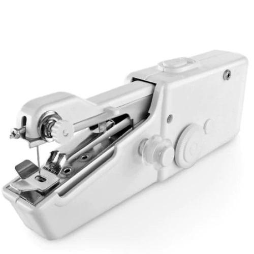 Mini masina de cusut portabila SIKS H1, pe baterii, premium, Alba [0]