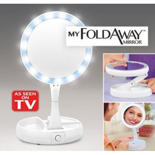 Oglinda cu iluminare My FoldAway Mirror [1]