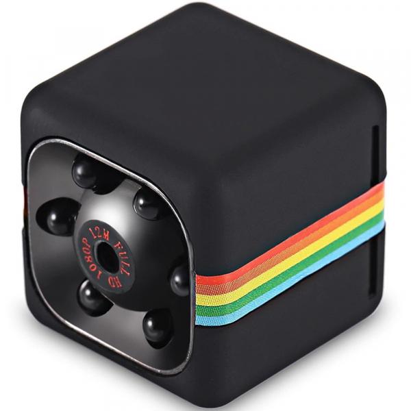 Mini Camera Spion iUni SQ11, Full HD 1080p, Audio Video, Night Vision, TV-Out, Black [3]