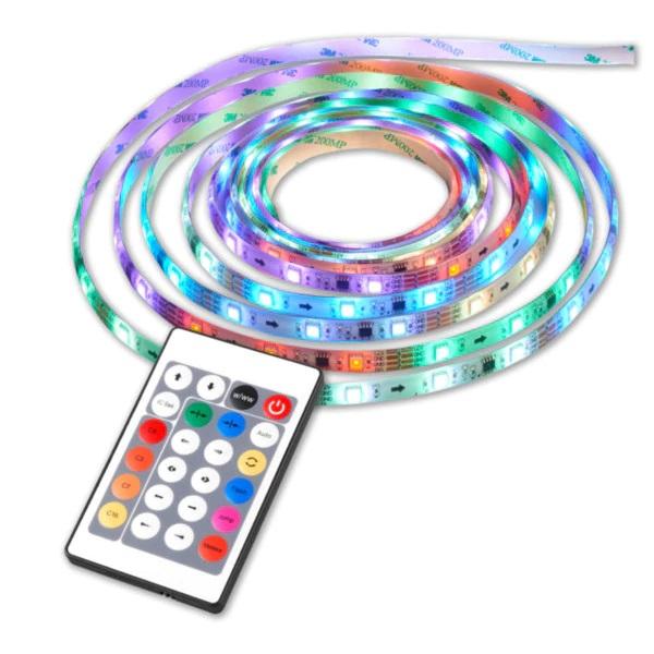 Banda LED cu telecomanda si 300 leduri,lungime 5 m [2]