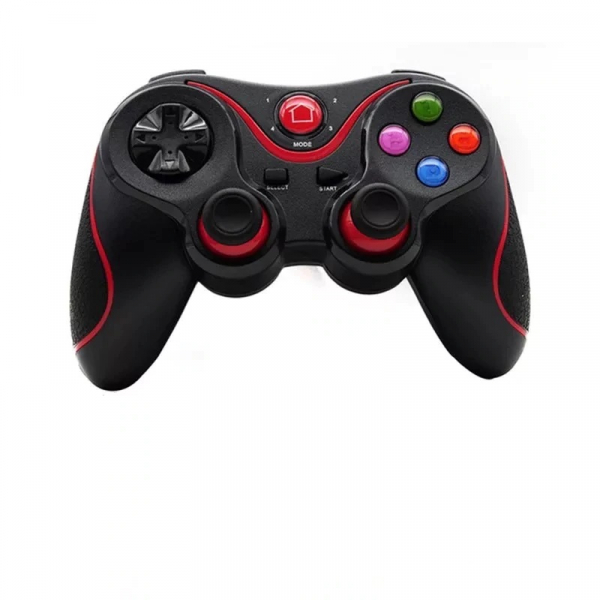 Gamepad LEHUAI-9078 Bluetooth Pentru Telefon , Tableta , PC , Smart TV , Smart Box Cu Acumulator Integrat [1]