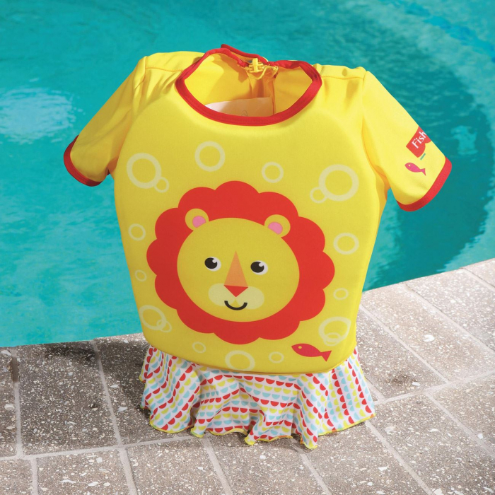 Vesta de Salvare Copii, Model Costum de Baie, Spuma, 1-3 Ani [0]