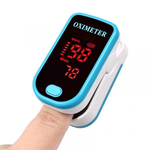 Pulsometru / Oximetru, Finger Pulse Oximeter, Indica nivelul de saturatie a oxigenului din sange, Masoara rata pulsului [0]