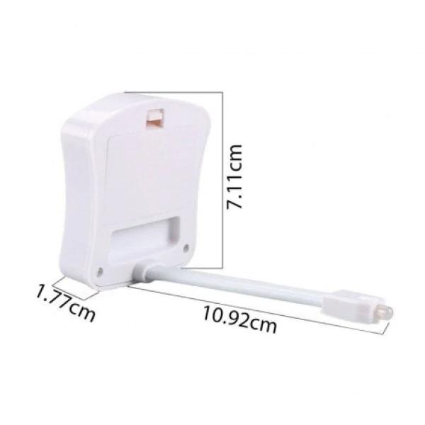 Lampa LED multicolor cu senzor pentru toaleta [3]