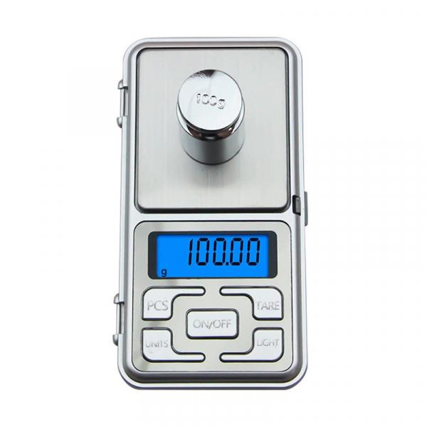 Mini cantar electronic de buzunar pentru bijuterii cu afisaj LCD, capacitate pana la 200g [0]