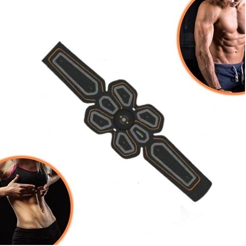 Centura Matheus pentru electrostimulare, abdomen, muschii oblici, alimentare USB [1]