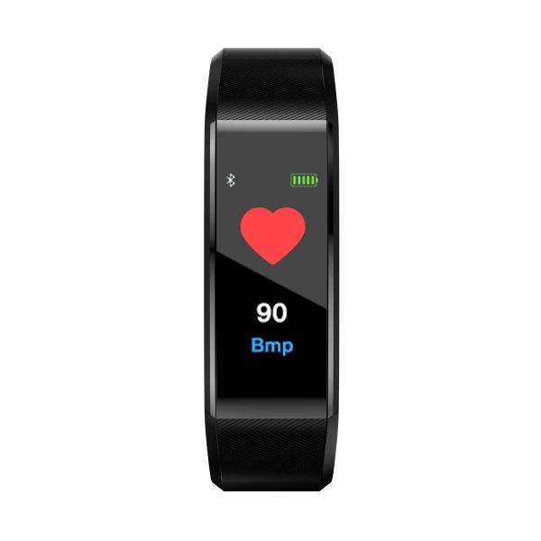 Bratara fitness ID115 plus-tensiune, ritm cardiac-black [3]