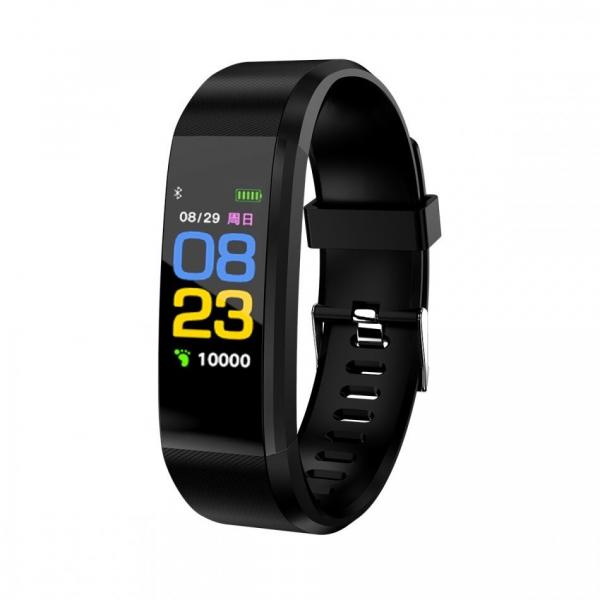 Bratara fitness ID115 plus-tensiune, ritm cardiac-black [0]