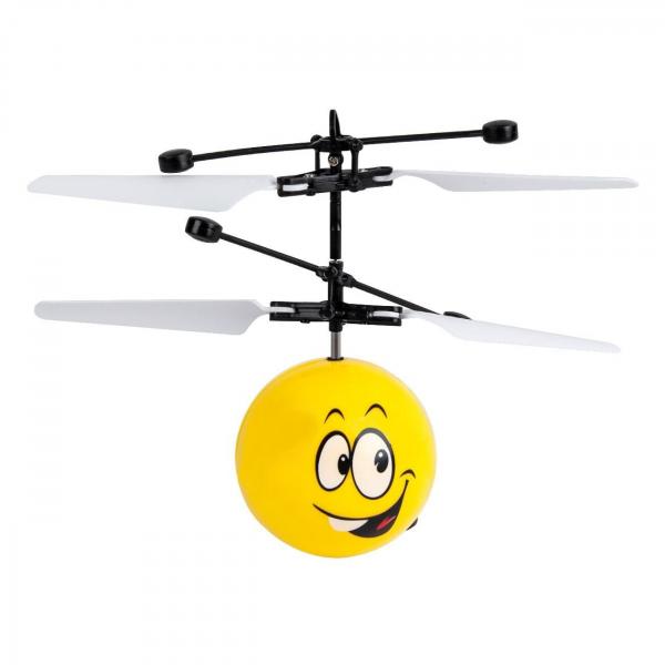Elicopter Mini jucarie cu infrarosu mini este suspendat pana la 4,5 metri si il controlati cu palma, genunchiul sau orice alta suprafata [0]