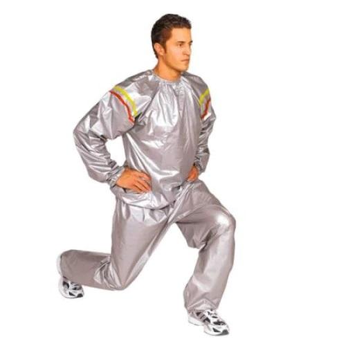 Costum Sauna, Unisex, ideal pentru slabit, masura xxl, cu mansete elastice [0]