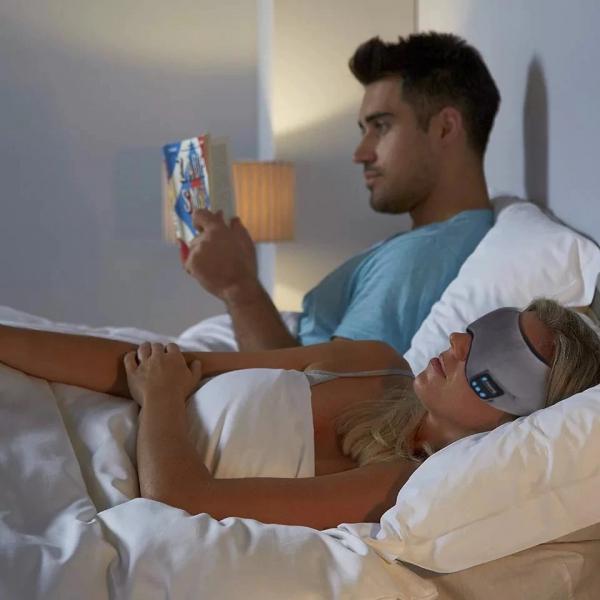 Masca de dormit MIDY 601, cu Casti Wireless, stereo Bluetooth 5.0 [2]