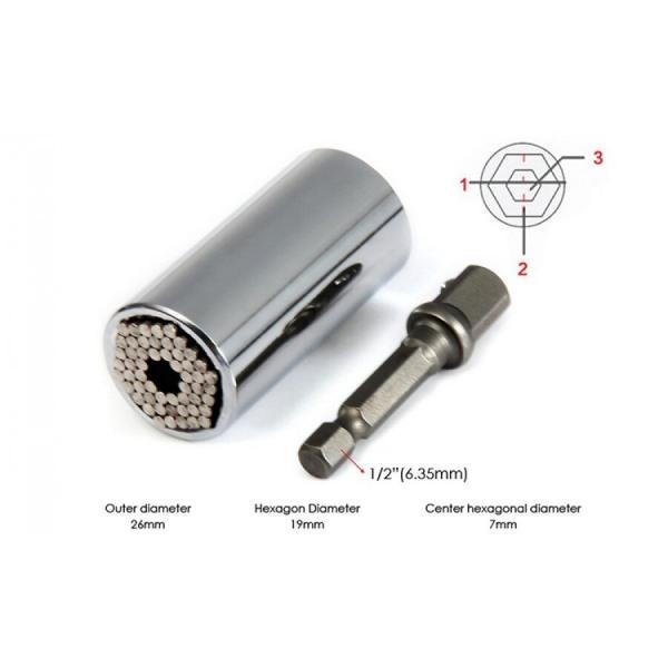 Cheie Tubulara Universala, 7-19mm, 2 capete [3]
