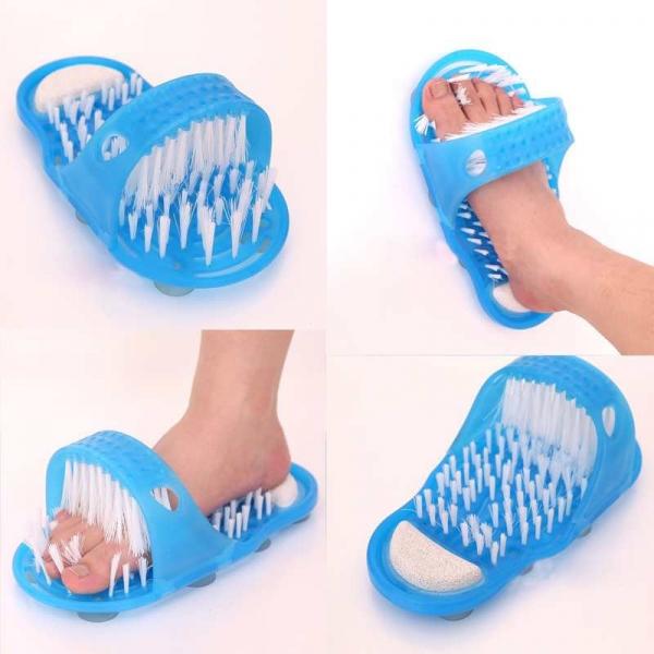 Papuc Perie Masaj Picioare, Easy Feet,Albastru [3]