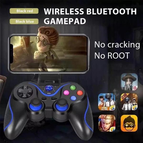 Gamepad LEHUAI-9078 Bluetooth Pentru Telefon , Tableta , PC , Smart TV , Smart Box Cu Acumulator Integrat [3]