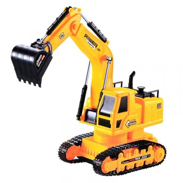 Excavator cu cablu Super Truck cu telecomanda [0]