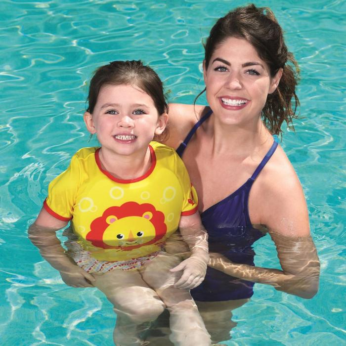 Vesta de Salvare Copii, Model Costum de Baie, Spuma, 1-3 Ani [1]