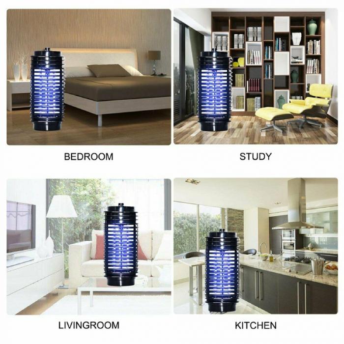 Aparat anti insecte cu lampa UV, pentru interior si exterior [2]
