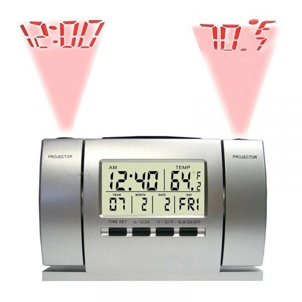 Ceas cu proiectie ora si temperatura , alarma [0]