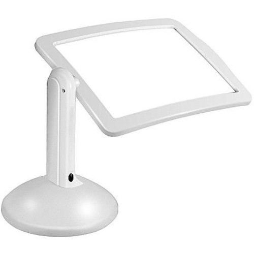 Lupa de birou cu iluminare , Brighter Viewer, alb [1]