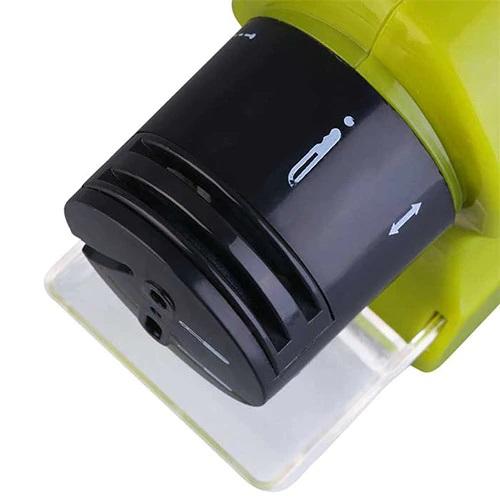 Ascutitor electric pentru cutite Swifty Sharp, Verde/Negru [1]