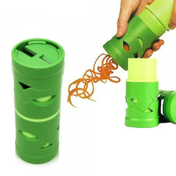 Feliator legume si fructe in forma de spirala,Culoare verde [0]
