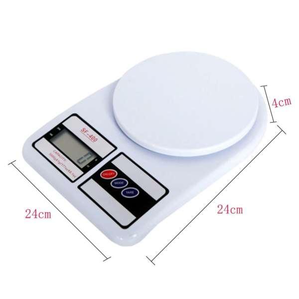 Cantar electronic de bucatarie cu afisaj digital, maxim 7 kg [2]