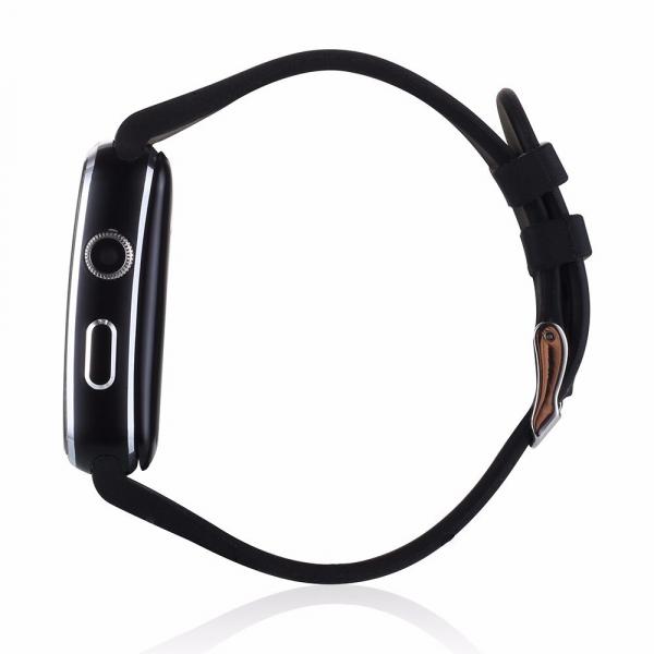 Smartwatch Usmart X6 ,ecran curbat ,cartela SIM,camera,notificari facebook,whatsapp,black [3]