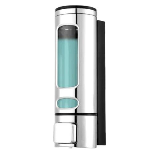 Dispenser sapun lichid, dezinfectant, ABS , 400 ml , Argintiu [0]