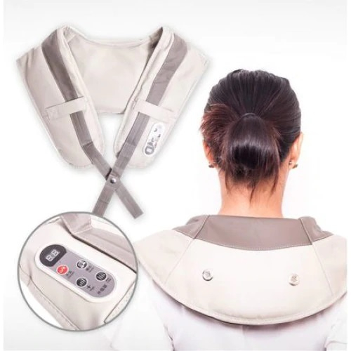 Aparat masaj umeri si gat, pentru relaxare dar si dureri musculare, vibratii intense cu variatii programe [0]