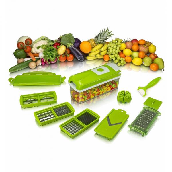 Razatoare de legume multifunctionala EDAR, 11 moduri de taiere, 9 piese [1]