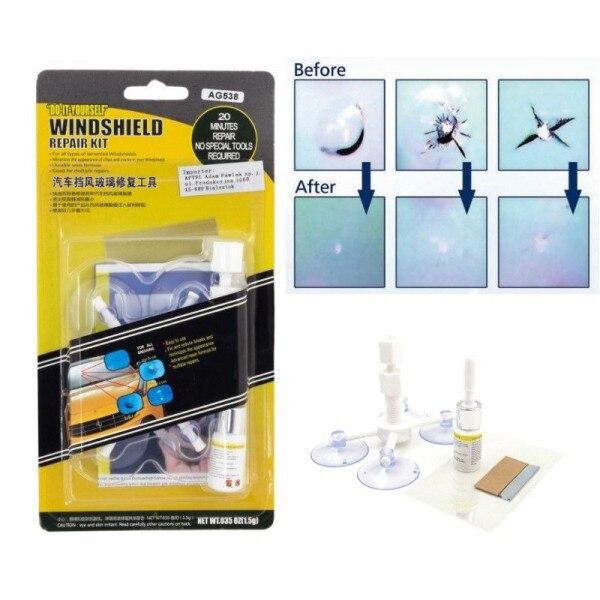Kit pentru Reparatie Parbriz sau Geam Auto [4]