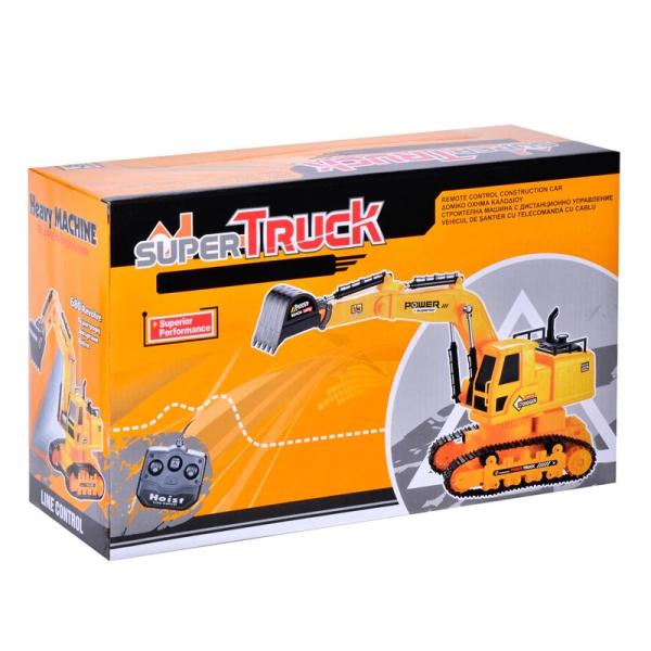 Excavator cu cablu Super Truck cu telecomanda [1]