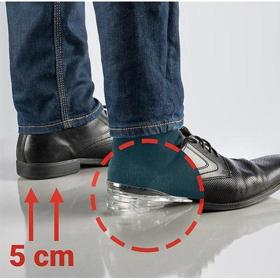 Inaltatoare din gel de silicon suport calcaie BellFyd®, lavabile, marime unica, unisex, antiderapante [4]