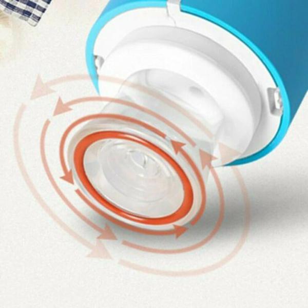 Mini aparat electric de vidat pungi, 5 pungi de etansare incluse, albastru [2]