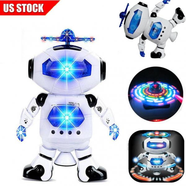 Robot de jucarie Digital Warrior 09 ,canta si danseaza 7x16x22 cm [1]