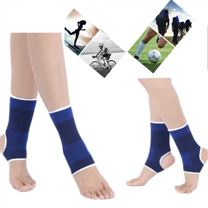 Set 2 glezniere elastice , suport pentru glezna, compatibil cu activitatea fizica, amelioreaza durerea si ofera suport, marime universala [0]